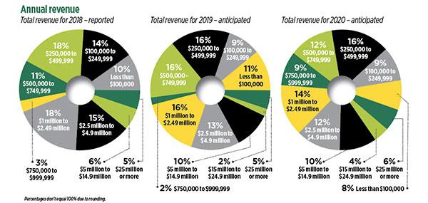 Annual revenue 2018-2020 (Graphic: LM Staff)