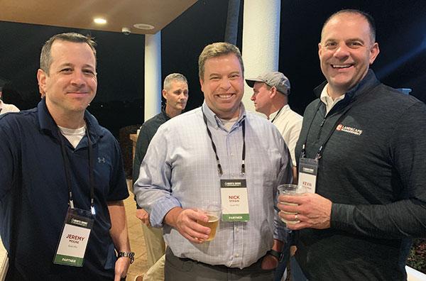 Jeremy Moore, Nick Strain, Kevin Stoltman (Photo: LM Staff)