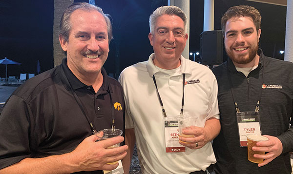 Jerry Grutz, Seth Jones, Tyler Gunter (Photo: LM Staff)