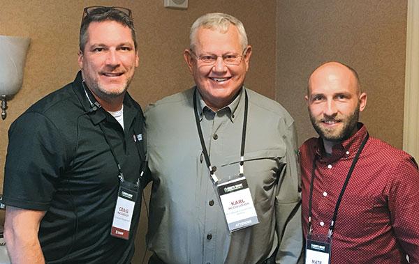 Craig MacGregor, Karl McCullough, Nate Moses (Photo: LM Staff)