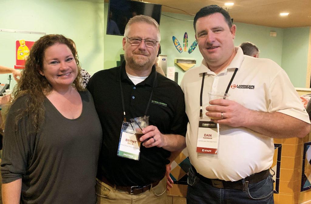 Brent Mills, Deanna Herron-Mills, Dan Hannan (Photo: LM Staff)