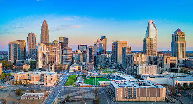 Charlotte, N.C., skyline (Photo: Kruck20/iStock / Getty Images Plus/Getty Images)