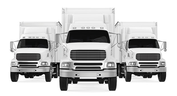 Three trucks (Photo: Nerthuz/iStock / Getty Images Plus/Getty Images)