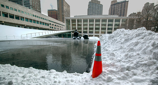 Ice melt in action (Photo: Natural Alternative)