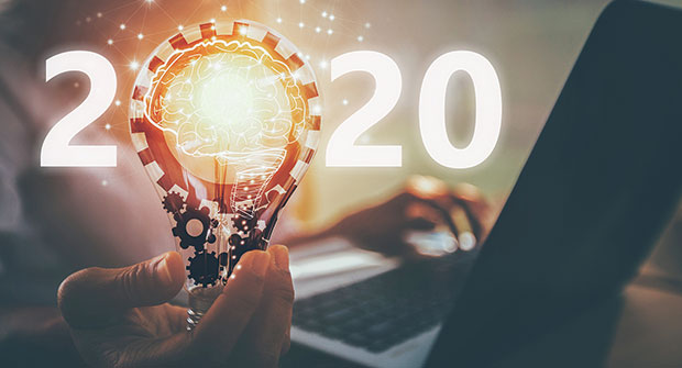 Conceptual lightbulb with 2020 (Photo: Urupong/iStock / Getty Images Plus/Getty Images)