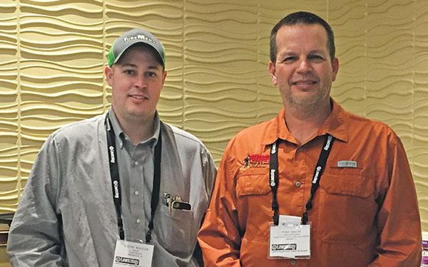 Justin Wagler, Todd Miller (Photo: LM Staff)