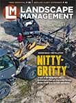 Landscape Management March 2020 cover. Photo by Case Construction Equipment