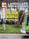 Landscape Management April cover. Photo by Tony Ventouris