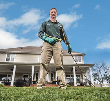 <strong>Next level</strong> Virginia Green Lawn Care has found some high-caliber hires outside the green industry. (Photo: Tony Ventouris)