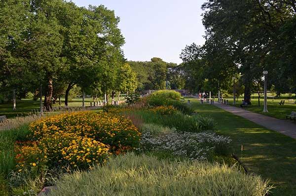 Landscape maintenance project (Photo: Moore Landscapes)