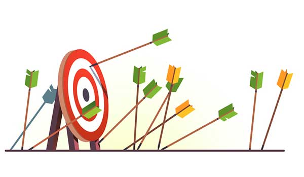 Target with arrows missing it (Photo: IconicBestiary/iStock / Getty Images Plus/Getty Images)