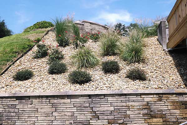 Sand dune hardscape project (Photo: ProGreen Turf & Landscape)