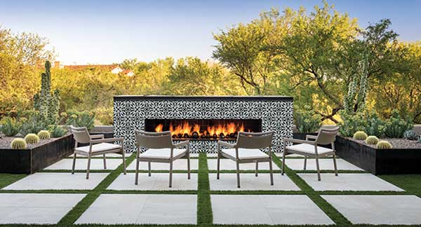 Outdoor patio space (Photo: MSI Surfaces)