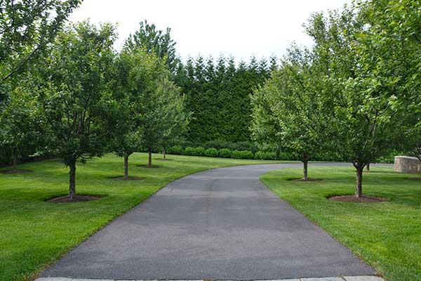 Landscape maintenance project (Photo: Hoffman Landscaping)