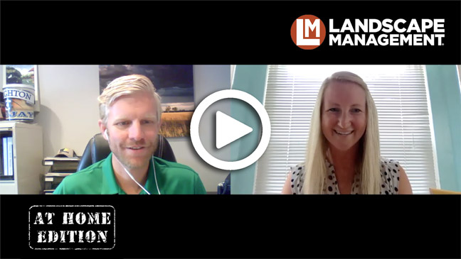Paul Fraynd, Sun Valley Landscaping, video interview with Sarah Webb. (Image: LM staff)