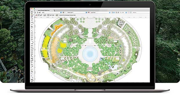 Design software (Photo: Vectorworks; illustration: fonikum/DigitalVision Vectors/Getty Images)