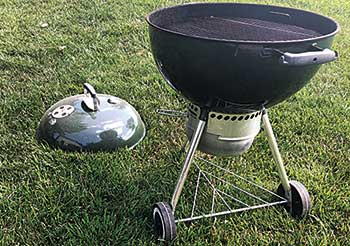 Grill that could cause possible turf damage (Photo: LM Staff)