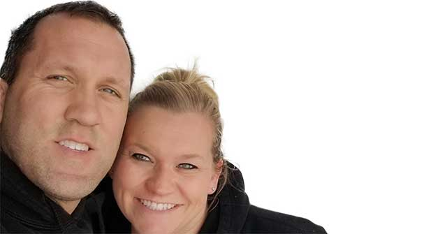 Rob (left) and Kelly Elder (Photo: Rob Elder)