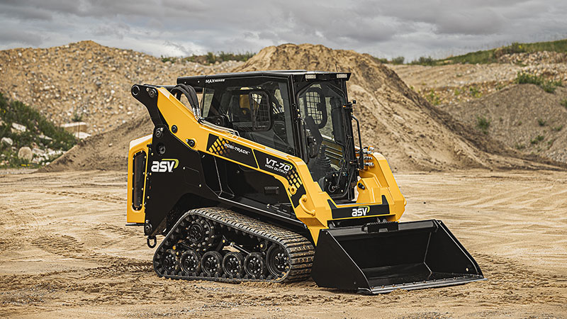 CUTLINE: The VT-70 High-Output is part of ASV Holdings new MAX-Series loaders. (Photo: ASV Holding)