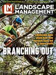 Landscape Management August 2020 cover | Photo by Timberline Landscaping
