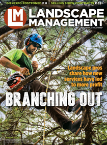 LM August 2020 cover (Photo: Timberline Landscaping)