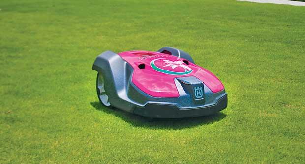 Robotic mower (Photo: GreenView Partners)