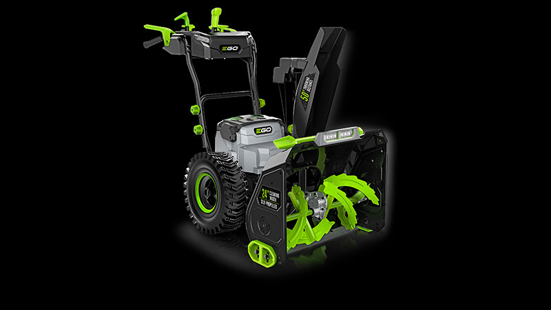 EGO's new two-stage battery-powered snow blower. (Photo: EGO)