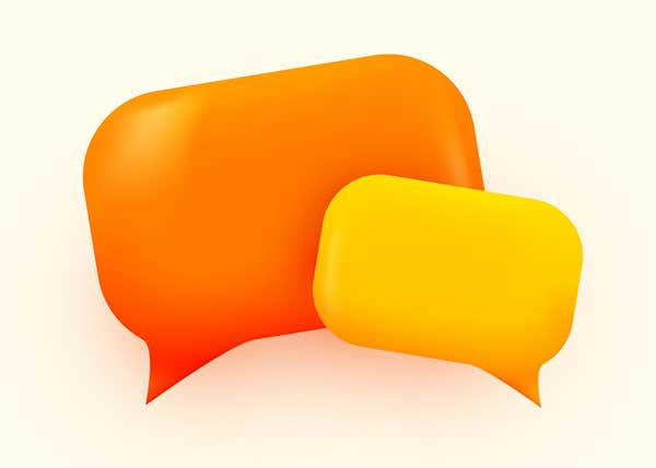 Talk bubbles (Photo: arthobbit / iStock / Getty Images)