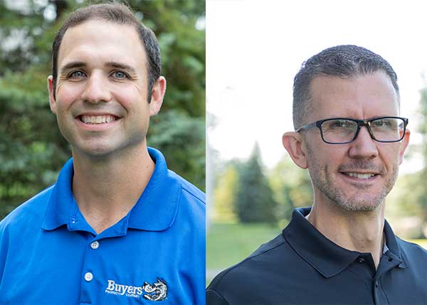 L to R: David Torcasi, Steve Dewey (Headshots: Buyers Products)