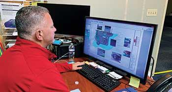 Person using design software (Photo: Doug Nemeckay)