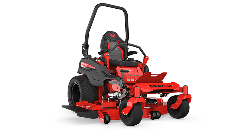 Gravely's Pro-Turn 600 comes with the company's X-Factor 3 Deck. (Photo: Gravely)