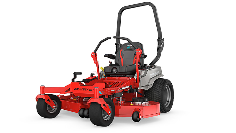 Gravely's Pro-Turn EV is a lithium-ion mower with swappable batteries. (Photo: Gravely)