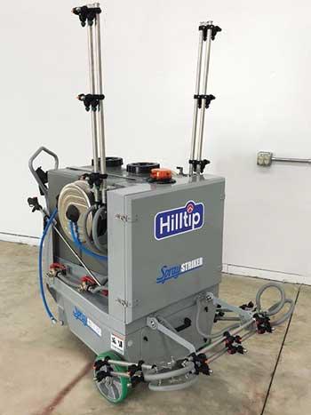 Indoor spray unit (Photo: Hilltip Corp.)