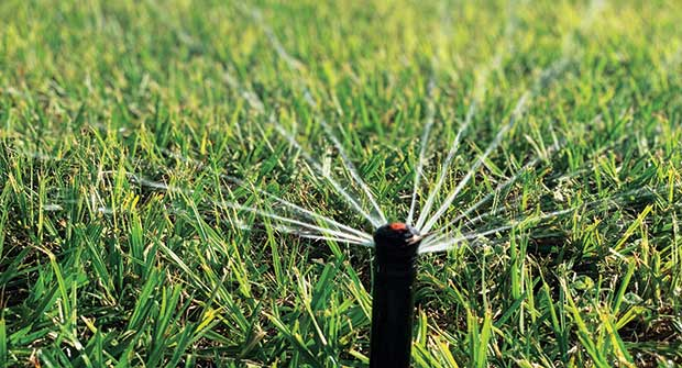 Irrigation project (Photo: Drip Drop Lawn Care)