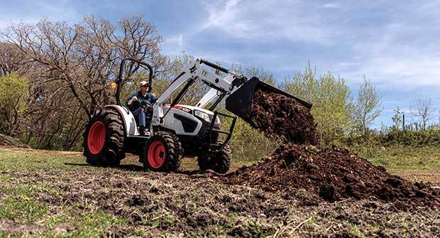 Compact tractors (Photo: Scott's Lawn Care)