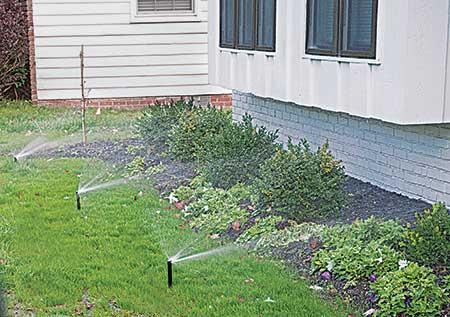Irrigation sprayheads (Photo: LM Staff)