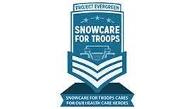 Logo: SnowCare for Troops