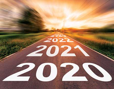 Road into the future (Photo: tortoon/iStock / Getty Images Plus /Getty Images)