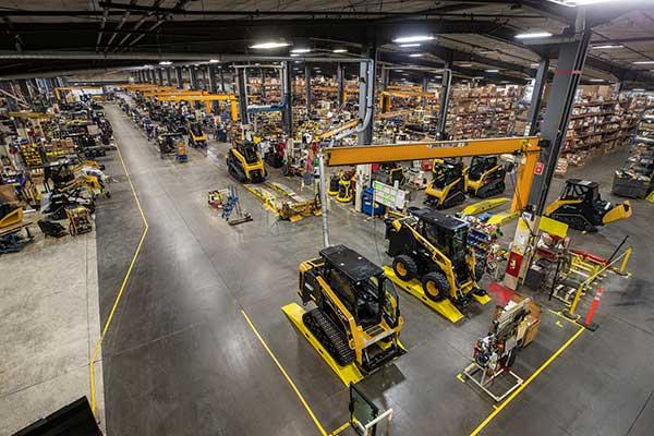 Manufacturing facility (Photo: ASV Holdings)