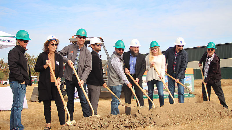 Landscape Development recently broke ground on construction of a new facility and office in Clovis, Calif. (Photo: Landscape Development)