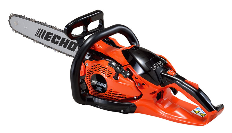 Echo's CS-2511P is the lightest gas-powered rear-handle chainsaw with the most power in its class, according to the company. (Photo: Echo)