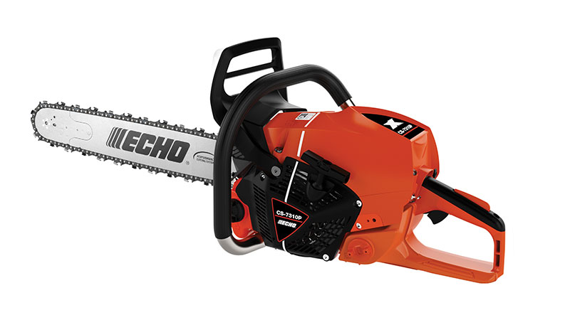 Echo said the CS-7310P is the company's most powerful chainsaw ever sold in North America. It features 13 percent more power and weighs 2 lbs. less than its predecessor, the CS-800P. (Photo: Echo)