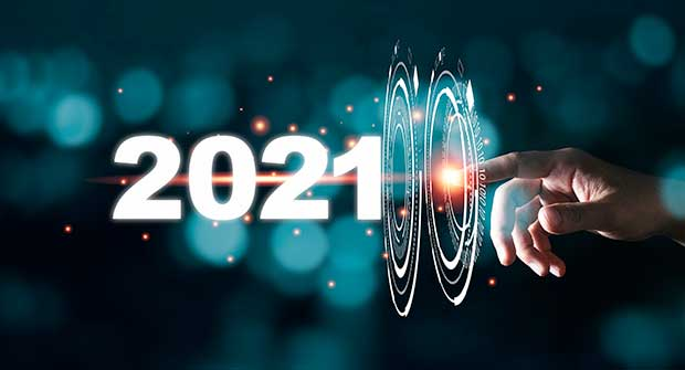 Going into 2021 with technology (Photo: Dilok Klaisataporn / iStock / Getty Images / Getty Images Plus)