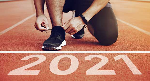 Runner at the start of 2021 (Photo: pcess609/iStock / Getty Images Plus/Getty Images)