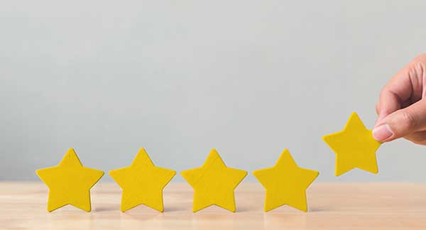Five stars (Photo: marchmeena29 / iStock / Getty Images / Getty Images Plus)