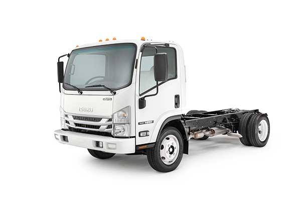 Isuzu Commercial Truck of America's production will begin on its Class 5 gasoline-powered trucks. (Photo: Isuzu)