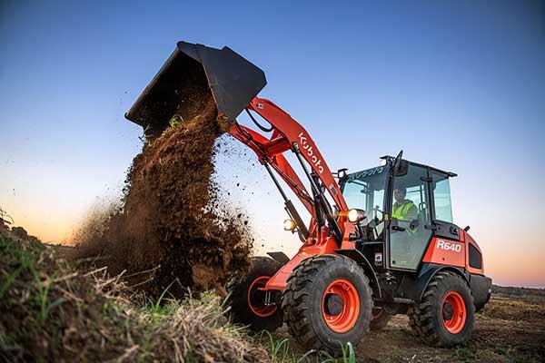 R640 wheel loader (Photo: Kubota Tractor Corp.)