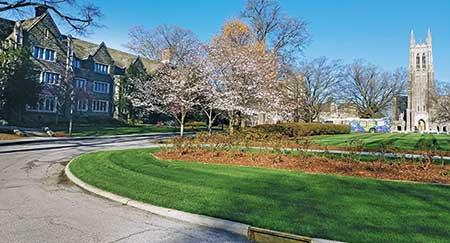 Grounds at Duke University (Photo: Duke University Facilities Management)