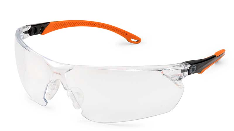 Brass Knuckle Spectrum eye protection helps prevent lens fogging with N-FOG anti-fog lens protection. (Photo: Brass Knuckle)