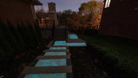 Photo: Glow Path Pavers